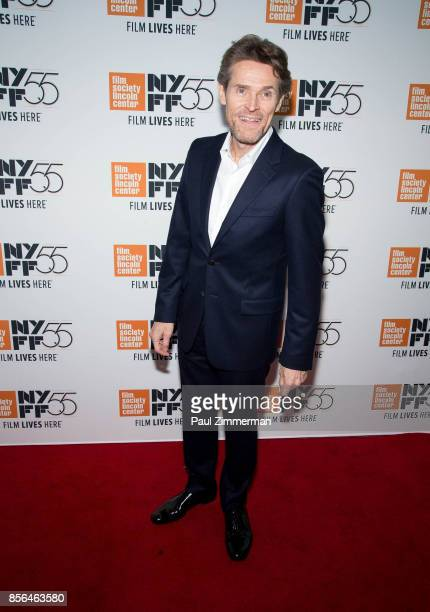 Willem Dafoe attends the 55th New York Film Festival The Florida Project at Alice Tully Hall on October 1 2017 in New York City