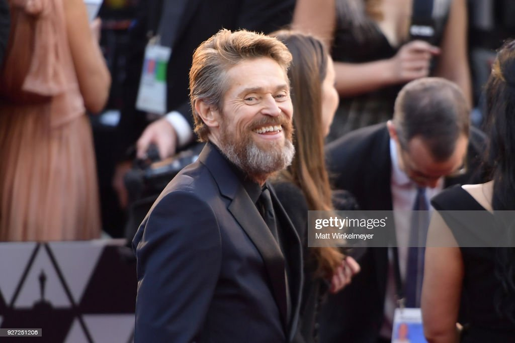 Willem Dafoe attends the 90th Annual Academy Awards at Hollywood & Highland Center on March 4, 2018 in Hollywood, California.