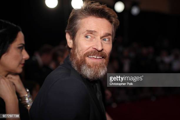 Willem Dafoe attends the 90th Annual Academy Awards at Hollywood Highland Center on March 4 2018 in Hollywood California