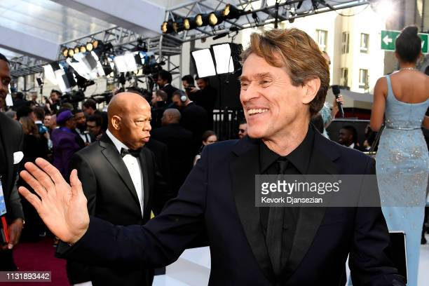 Willem Dafoe attends the 91st Annual Academy Awards at Hollywood and Highland on February 24 2019 in Hollywood California