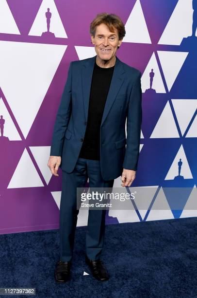 Willem Dafoe attends the 91st Oscars Nominees Luncheon at The Beverly Hilton Hotel on February 04 2019 in Beverly Hills California