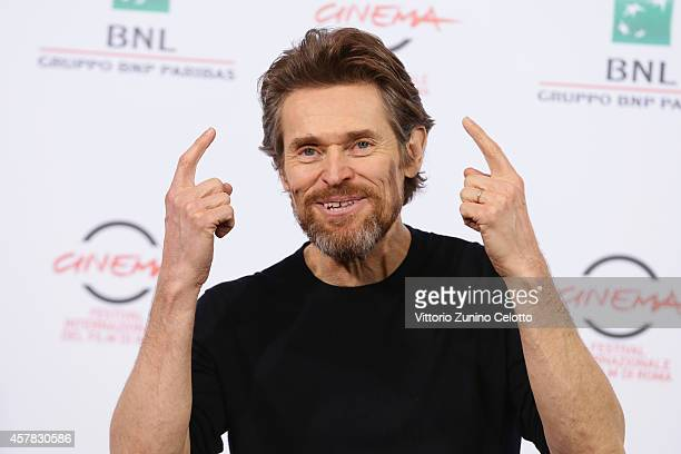 Willem Dafoe attends the 'A Most Wanted Man' Photocall during the 9th Rome Film Festival on October 25 2014 in Rome Italy