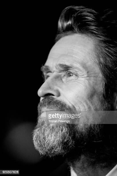 Willem Dafoe attends the EE British Academy Film Awards held at Royal Albert Hall on February 18 2018 in London England