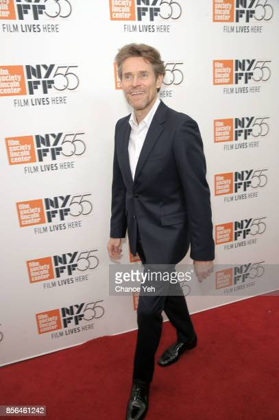 Willem Dafoe attends The Florida Project screening during the 55th New York Film Festival at Alice Tully Hall on October 1 2017 in New York City