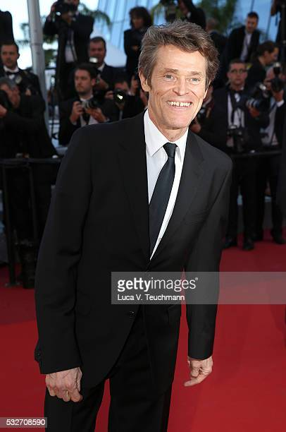 Willem Dafoe attends the 'Graduation ' Premiere during the 69th annual Cannes Film Festival at the Palais des Festivals on May 19 2016 in Cannes...
