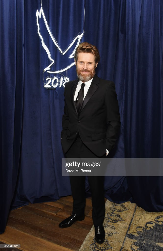 Willem Dafoe attends the Grey Goose 2018 BAFTA Awards after party on February 18, 2018 in London, England.