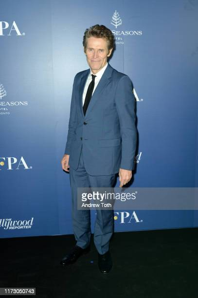 Willem Dafoe attends The Hollywood Foreign Press Association and The Hollywood Reporter party at the 2019 Toronto International Film Festival at Four...