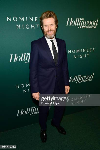 Willem Dafoe attends The Hollywood Reporter 6th Annual Nominees Night at CUT on February 5 2018 in Beverly Hills California