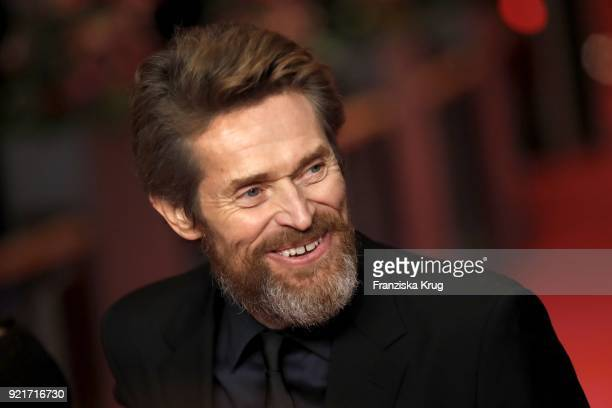 Willem Dafoe attends the Homage Willem Dafoe Honorary Golden Bear award ceremony and 'The Hunter' screening during the 68th Berlinale International...