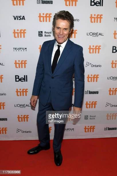 Willem Dafoe attends The Lighthouse premiere during the 2019 Toronto International Film Festival at Ryerson Theatre on September 07 2019 in Toronto...