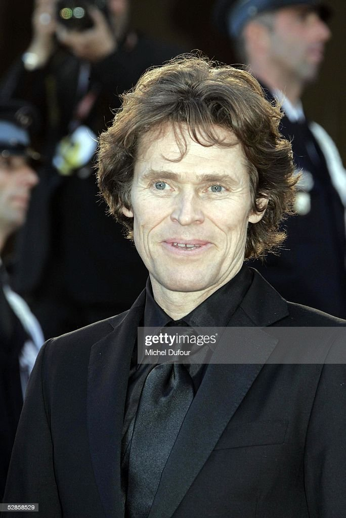 Willem Dafoe attends the preview of 'Manderlay', Lars Von Trier's movie, at the Grand Theatre Lumiere on May 16, 2005 in Cannes, France.