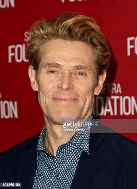 Willem Dafoe attends the SAGAFTRA Foundation's conversations and screening of 'The Florida Project' at SAGAFTRA Foundation Screening Room on December...