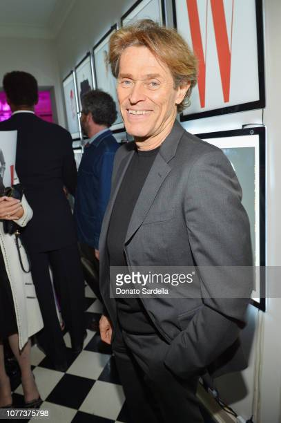 Willem Dafoe attends W Magazine Celebrates Its 'Best Performances' Portfolio and the Golden Globes with Audi and Giorgio Armani Beauty at Chateau...