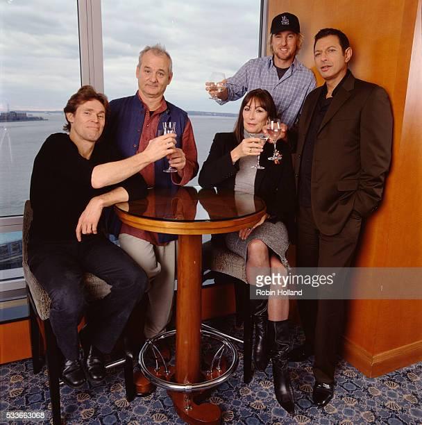 Willem Dafoe Bill Murray Anjelica Huston Owen Wilson and Jeff Goldblum