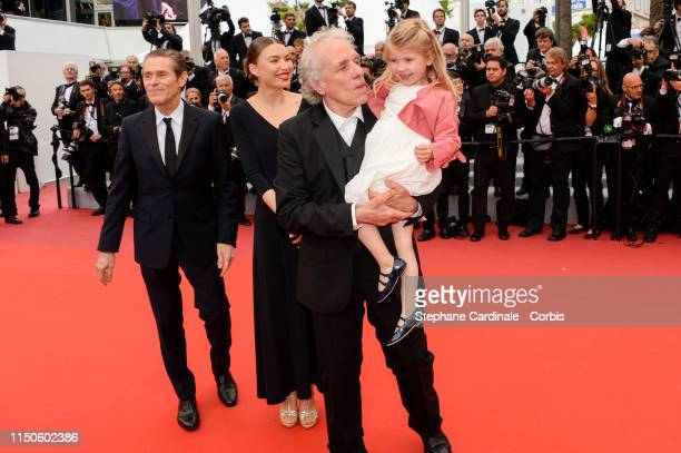 Willem Dafoe Cristina Chiriac Anna Ferrara Abel Ferrara attend the screening of Le Belle Epoque during the 72nd annual Cannes Film Festival on May 20...