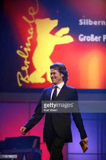 Willem Dafoe during 57th Berlinale International Film Festival - Golden Bear Awards Show at Berlinale Palast in Berlin, Germany.