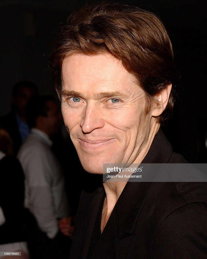Willem Dafoe during 'The Life Aquatic with Steve Zissou' Los Angeles Screening at Harmony Gold Theater in Hollywood, California, United States.