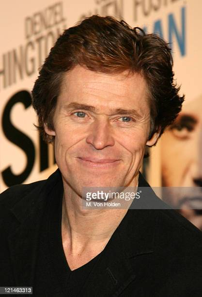 """Willem Dafoe during The World Premiere of the """"Inside Man"""" at Ziegfeld Theatre in New York, New York, United States."""