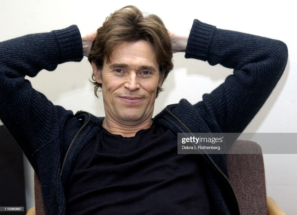 Willem Dafoe Sighting In NYC - December 7, 2004