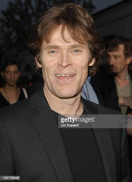 """Willem Dafoe during """"XXX: State of the Union"""" Los Angeles Premiere - Arrivals at Mann Village Westwood in Westwood, California, United States."""