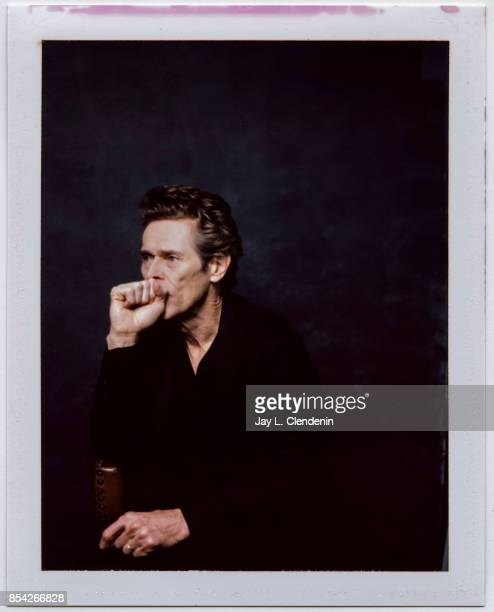 Willem Dafoe from the film The Florida Project is photographed on polaroid film at the LA Times HQ at the 42nd Toronto International Film Festival in...