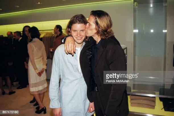 Willem Dafoe Jack Dafoe Prada store opening NYC October 27 1996