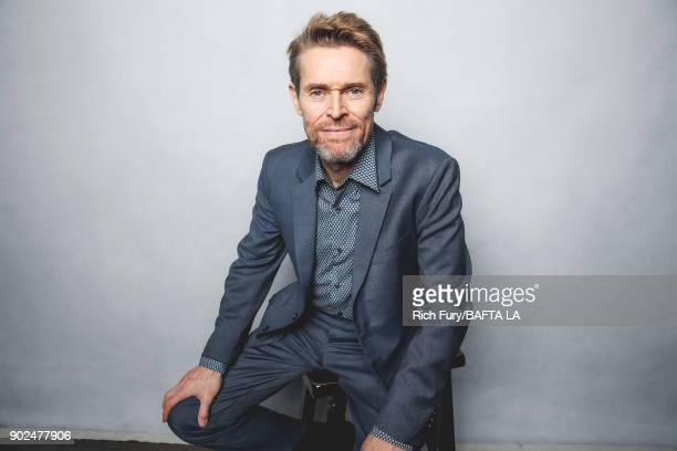 Willem Dafoe poses for a portrait at the BAFTA Los Angeles Tea Party on January 6 2018 in Beverly Hills California