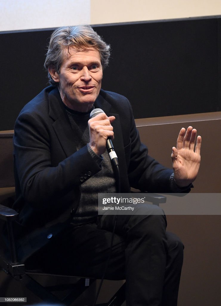 NY: 56th New York Film Festival - A Conversation With Willem Dafoe