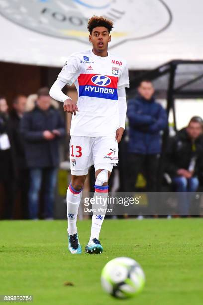 Willem Geubbels of Lyon during the Ligue 1 match between Amiens SC and Olympique Lyonnais at Stade de la Licorne on December 10 2017 in Amiens France