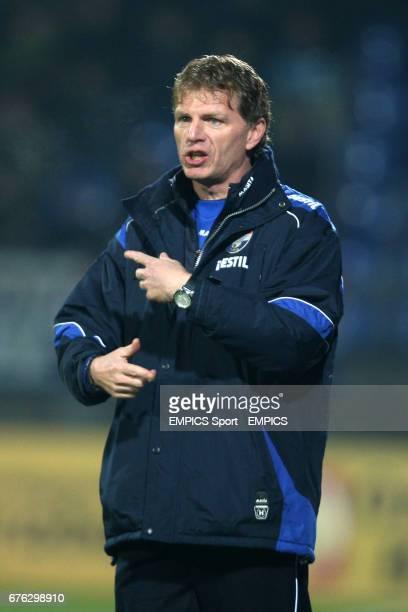 Willem II coach Alfons Groenendijk
