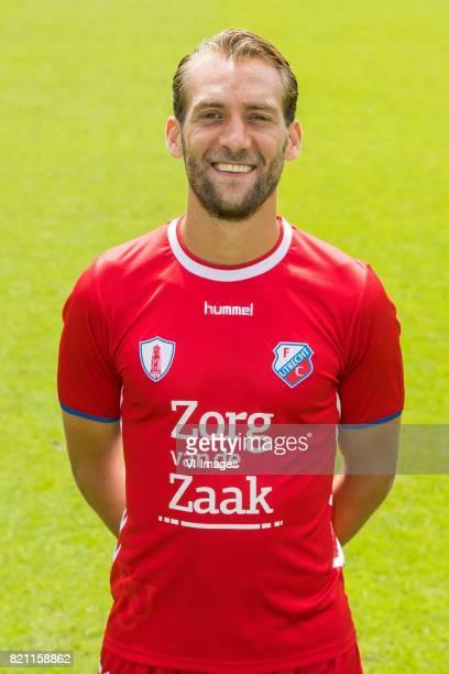Willem Janssen during the team presentation of FC Utrecht on July 22 2017 at Sportcomplex Zoudenbalch in Utrecht The Netherlands