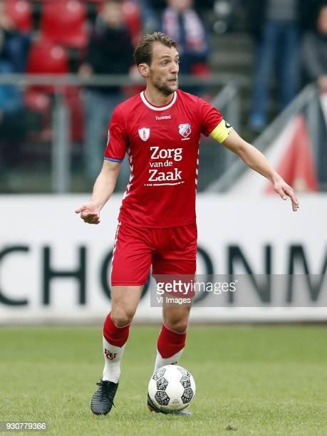 Willem Janssen of FC Utrecht during the Dutch Eredivisie match between FC Utrecht and Vitesse Arnhem at the Galgenwaard Stadium on March 11 2018 in...