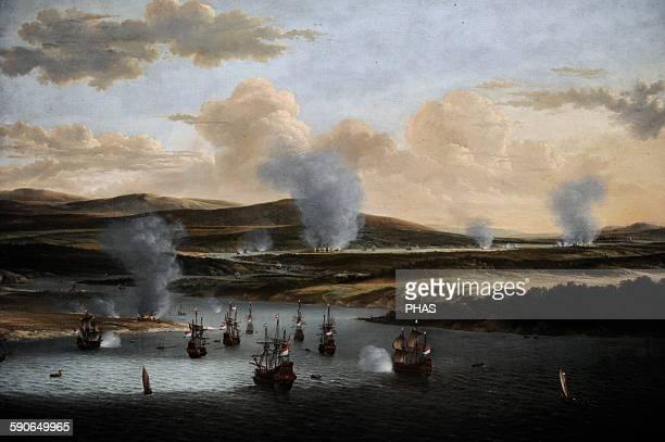 Willem Schellinks Dutch painter Attack on Chatham c 1668 Rijksmuseum Amsterdam Holland