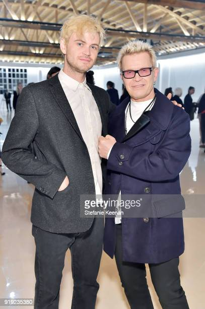 Willem Wolfe and Billy Idol attend Mr Chow 50 Years on February 16 2018 in Vernon California