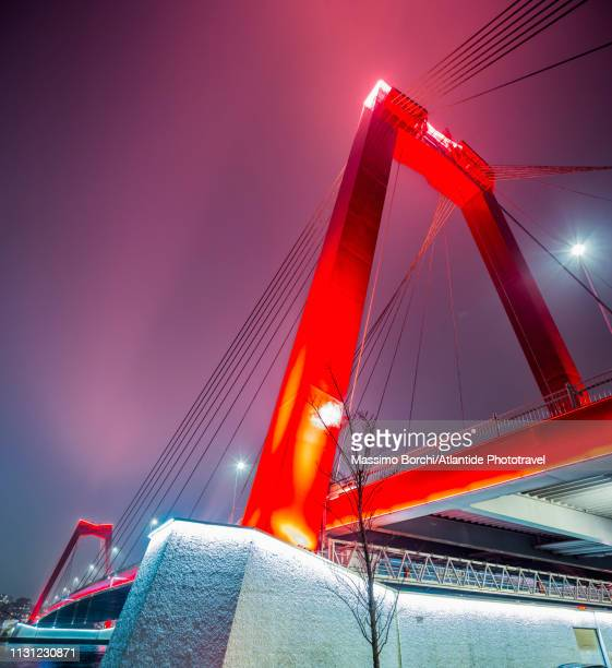 willemsbrug (willem bridge) - image stock-fotos und bilder