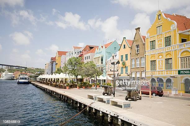 Willemstad harbor, Curacao, Antilles