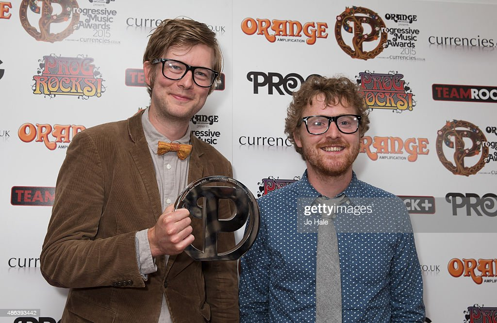 Willgoose, Esq., and Wrigglesworth of Public Service Broad Casting win the Antham Award at Underglobe on September 3, 2015 in London, England.