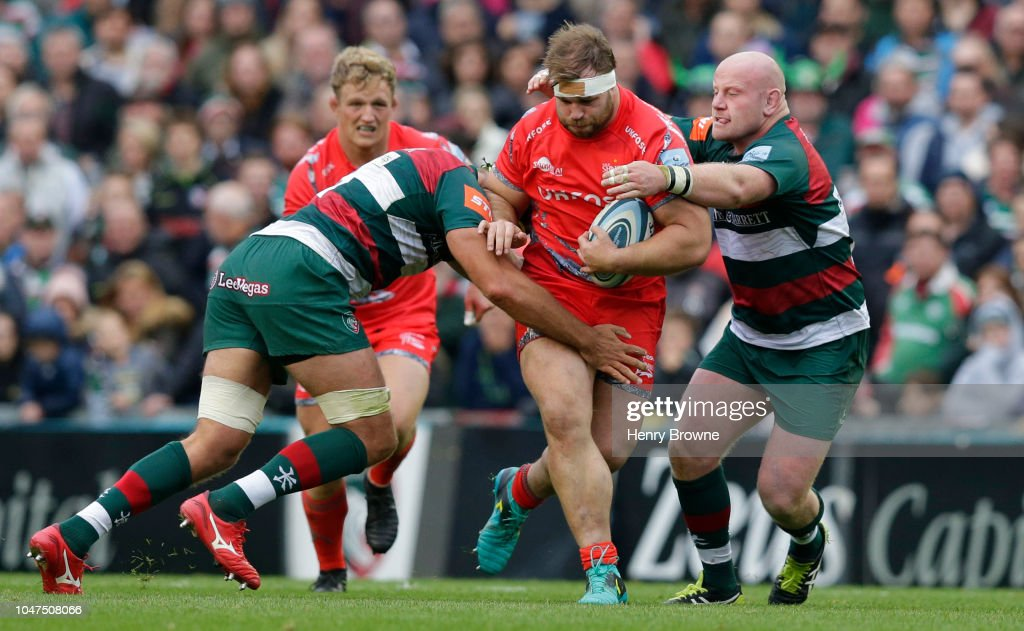Leicester Tigers v Sale Sharks - Gallagher Premiership Rugby : News Photo