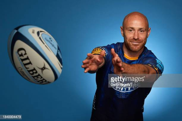 Willi Heinz of Worcester Warriors poses for a photo during the Gallagher Premiership Rugby Season Launch at Twickenham Stadium on September 09, 2021...