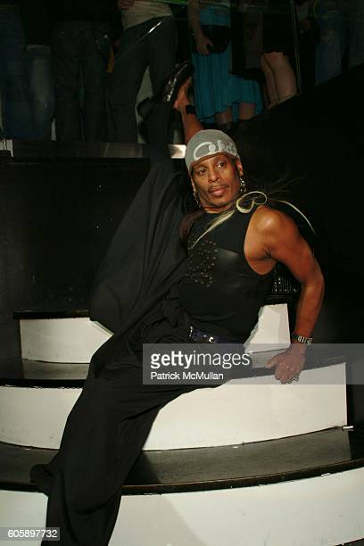 Willi Ninja attends AMANDA LEPORE DOLL After Party at Happy Valley on April 11 2006 in New York City
