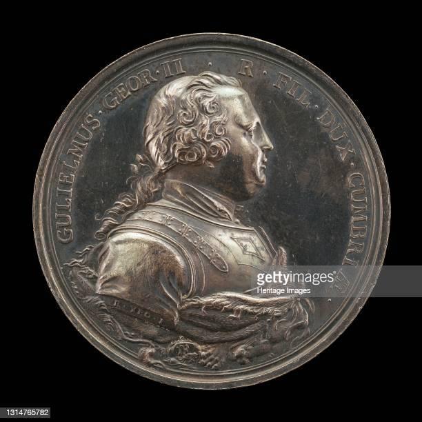 William, 1721-1765, Duke of Cumberland [obverse], 1746. Artist Richard Yeo.