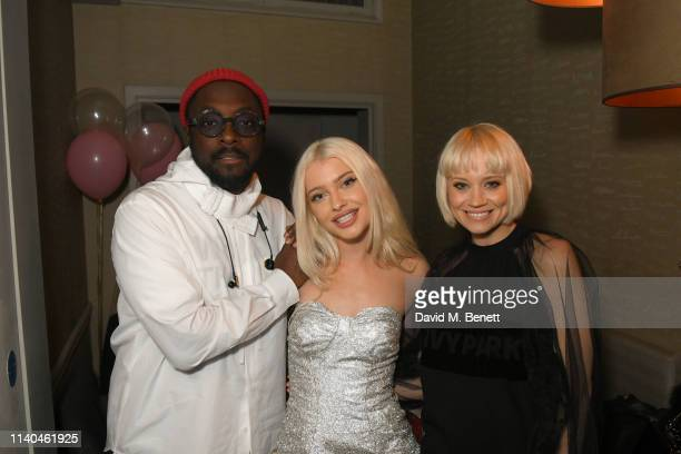 William Alice Chater and Kimberly Wyatt attend Alice Chater's birthday party at The Piano Bar Soho on April 04 2019 in London England