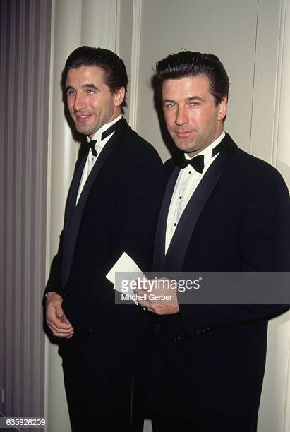 William and Alec Baldwin attend an awards ceremony at New York's WaldorfAstoria Hotel