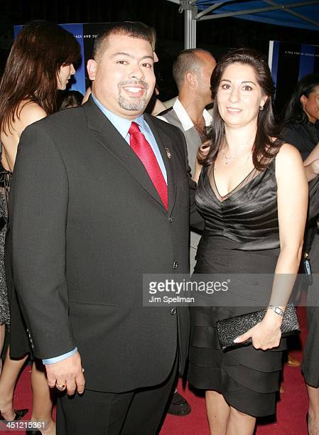 William and Allison Jimeno during World Trade Center New York City Premiere Outside Arrivals at Ziegfeld Theater in New York City New York United...