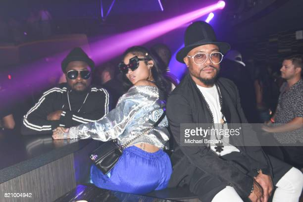 William and Apl attend NYLON And NVE | The Experience Agency Present AfterCon At OMNIA San Diego at Omnia Nightclub on July 22 2017 in San Diego...