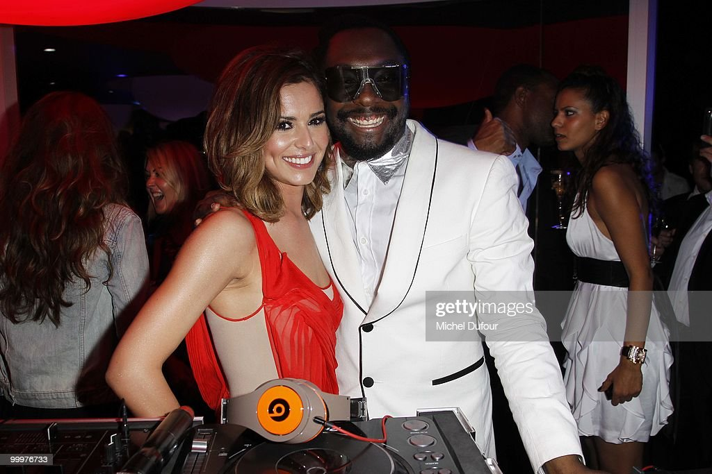 will.i.am and Cheryl Cole attend the de Grisogono 'Crazy Chic Evening' cocktail party at the Hotel Du Cap Eden Roc on May 18, 2010 in Antibes, France.
