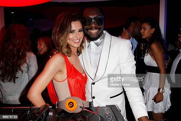william and Cheryl Cole attend the de Grisogono Crazy Chic Evening cocktail party at the Hotel Du Cap Eden Roc on May 18 2010 in Antibes France