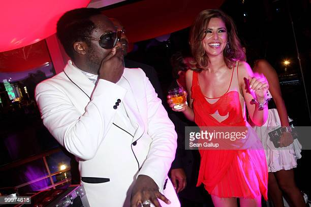 william and Cheryl Cole attend the de Grisogono Party at the Hotel Du Cap on May 18 2010 in Cap D'Antibes France