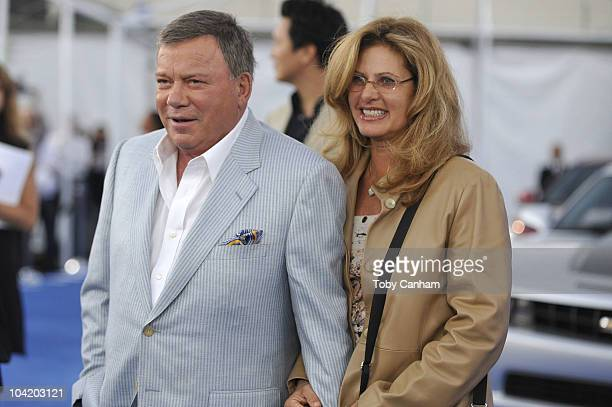 William and Elizabeth Shatner attend the CBS event Cruze Into The Fall held at The Colony on September 16 2010 in Los Angeles California