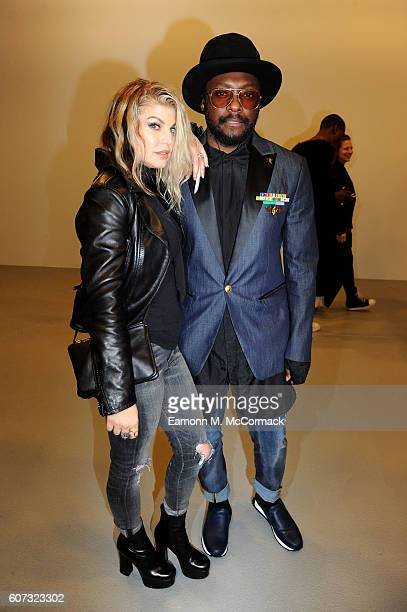 William and Fergie attend the Gareth Pugh show during London Fashion Week Spring/Summer collections 2017 on September 17 2016 in London United Kingdom